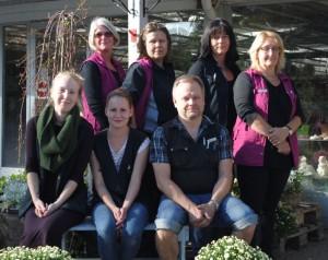 Stående: Anna-Karin Blidström, Anita Eriksson, Pia Lundemo-Leskinen, Marlene Huhta Sittande: Linda Johnson, Emma Johansson, Thommy Nilsson